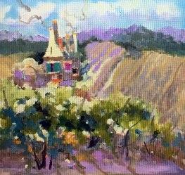 Burgandy-Vines